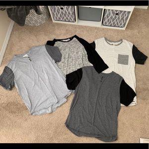 Men's Pacsun shirts